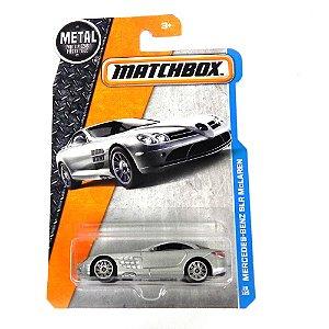 MERCEDES-BENZ SLR MCLAREN 1/64 MATCHBOX MATCHDVK48-4B10