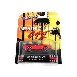 1968 OLDSMOBILE CUTLASS CONVERTIBLE BEVERLY HILLS COP II (UM TIRA DA PESADA 2) HOT WHEELS HOTX8900-0718