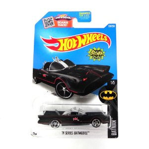 Batmovel Da Serie De Tv 1/64 Hot Wheels Batman Hotdht15-D9B0K