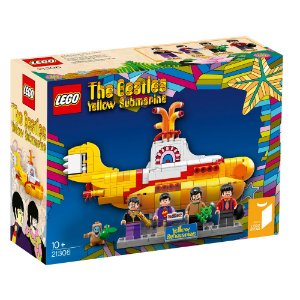 Lego The Beatles Yellow Submarine 553 Peças Lego21306