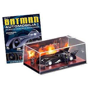 DC BATMAN AUTOMOBILIA COLLECTION #01 1989 BATMAN MOVIE BATMOBILE BATMOVEL 1/43 EAGLEMOSS