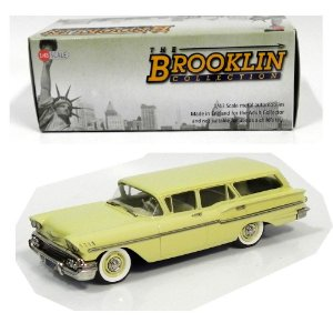 1958 CHEVROLET YEOMAN 4-DOOR STATION WAGON 1/43 THE BROOKLIN COLLECTION BRK154A