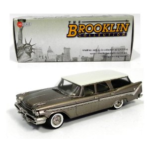 1959 DESOTO FIREFLITE 4-DOOR STATION WAGON 1/43 THE BROOKLIN COLLECTION BRK157A