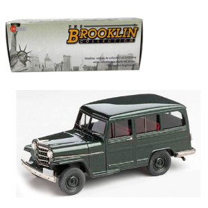 1952 Willys-Overland Station Wagon 4Wd 1/43 The Brooklin Collection Brk167