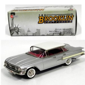 1960 CHEVROLET IMPALA 4-DOOR HARDTOP SPORT SEDAN 1/43 THE BROOKLIN COLLECTION BRK166A