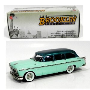 1955 CHRYSLER WINDSOR TOWN & COUNTRY 1/43 THE BROOKLIN COLLECTION BRK138A