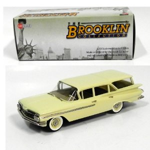 1959 Chevrolet Brookwood 4-Door Station Wagon 1/43 The Brooklin Collection Brk145A