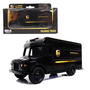 PACKAGE TRUCK UPS 1/43 DARON RT4349
