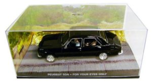 PEUGEOT 504 FOR YOUR EYES ONLY 007 SOMENTE PARA SEUS OLHOS 1/43 IXO
