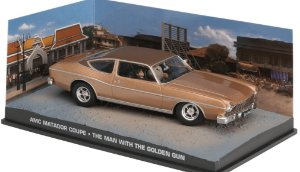 AMC MATADOR COUPE THE MAN WITH THE GOLDEN GUN 007 CONTRA O HOMEM COM A PISTOLA DE OURO 1/43 IXO