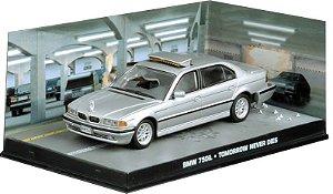 BMW 750iL TOMORROW NEVER DIES 007 O AMANHÃ NUNCA MORRE 1/43 IXO
