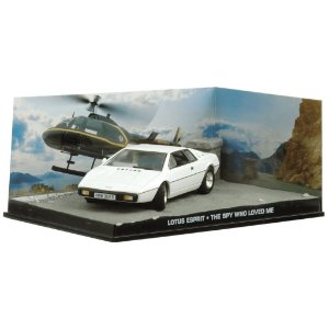 LOTUS ESPRIT THE SPY WHO LOVED ME 007 O ESPIÃO QUE ME AMAVA 1/43 IXO