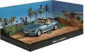 BMW Z3 GOLDENEYE 007 CONTRA GOLDENEYE 1/43 IXO