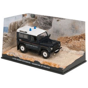 LAND ROVER DEFENDER QUANTUM OF SOLACE 007 1/43 IXO