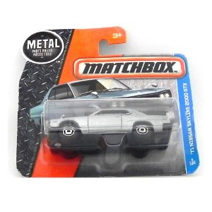 1971 NISSAN SKYLINE 2000 GTX 1/64 MATCHBOX MATCHDMH12-CD10