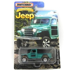 JEEP WILLYS 4X4 RURAL 1/64 MATCHBOX JEEP MATCHDMN26-CD10