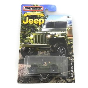 1943 JEELP WILLYS RURAL 1/64 MATCHBOX JEEP MATCHDMN28-CD10