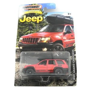 JEEP GRAND CHEROKEE 1/64 MATCHBOX JEEP MATCHDMN33-DC10