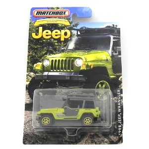 1998 JEEP WRANGLER 1/64 MATCHBOX JEEP MATCHDMN31-CD10