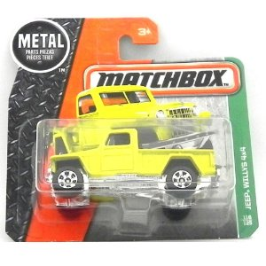 JEEP WILLYS 4X4 RURAL 1/64 MATCHBOX MATCHDMH10-CD10