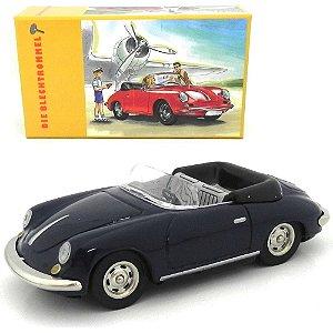 1962 PORSCHE 356 CARRERA CABRIOLET BAUIAHR MOVIDO A CORDA 1/32 DIE BLECHTROMMEL TM20104000110