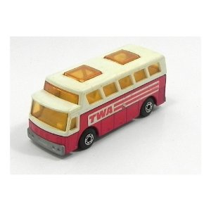 Ônibus Airport Coach N°65 1/64 Matchbox Matchn65