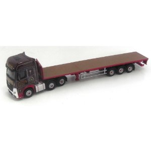 CAMINHÃO MERCEDES-BENZ ACTROS GSC JR ADAMS 1/76 OXFORD
