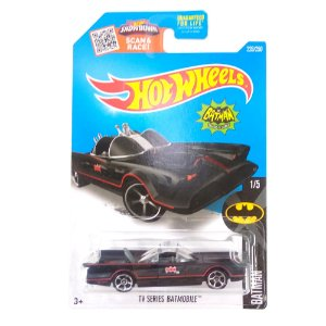 Tv Series Batmobile Batman Batmovel 1/64 Hot Wheels