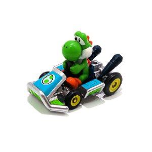 Yoshi no Kart Super Mario Kart 1/64 Tomica