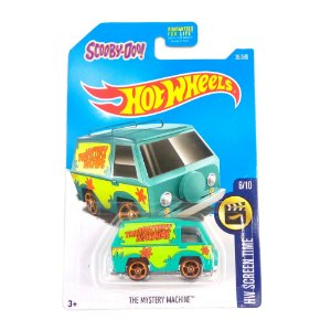 The Mistery Machine Scooby-Doo! Hw Screen Time 1/64 Hot Wheels