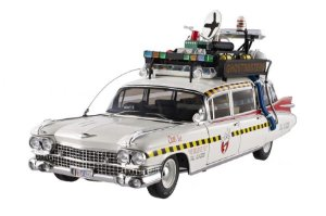 CADILLAC ECTO-1A OS CAÇA FANTASMAS GHOSTBUSTERS 1/18 HOT WHEELS ELITE X5470
