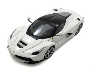 2013 Ferrari Laferrari Branca 1/18 Hot Wheels Bly54