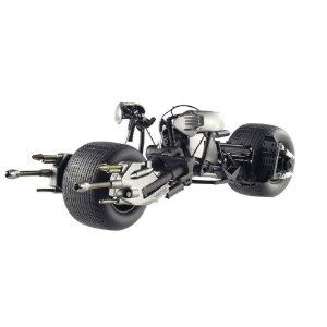 BATCYCLE BAT-POD THE DARK KNIGHT 1/18 HOT WHEELS ELITE X5471