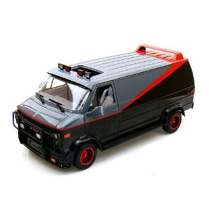 VAN GMC THE A-TEAM SERIE ESQUADRÃO CLASSE A HOT WHEELS 1/18 X5531