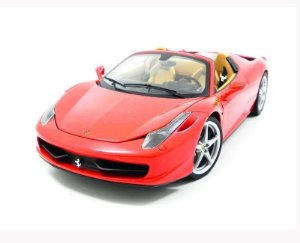 Ferrari 458 Spider Red 1/18 Hot Wheels Elite Bcj89