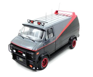 VAN GMC THE A-TEAM SERIE ESQUADRÃO CLASSE A HOT WHEELS ELITE 1/18 V7439