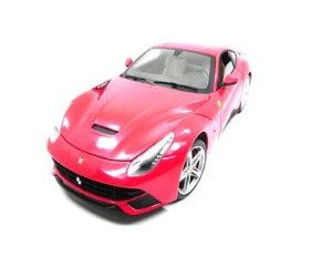 Ferrari F12 Berlinetta Vermelha 1/18 Hot Wheels Elite X5474