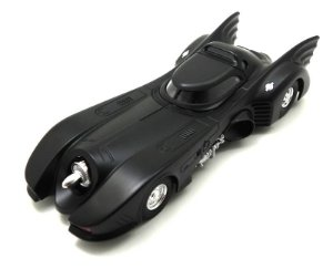 1989 BATMAN BATMOVEL BATMOBILE 1/24 HOT WHEELS BLY51