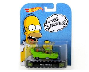 THE HOMER OS SIMPSONS HOT WHEELS 1/64 BDV00