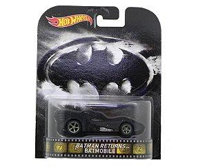 1992 BATMAN RETURNS BATMOBILE (BATMAN O RETORNO) BATMOVEL 1/64 HOT WHEELS BDV02