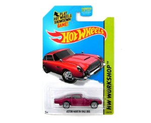 1963 ASTON MARTIN DB5 1/64 HOT WHEELS HW WORKSHOP CFJ22-09B0B