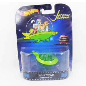 THE JETSONS CARRO CAPSULA 1/64 HOTWHEELS BDT78-0718