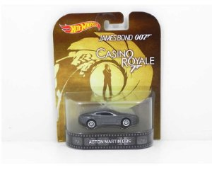 ASTON MARTIN DBS 007 CASINO ROYALE 1/64 HOT WHEELS BDV05-0719