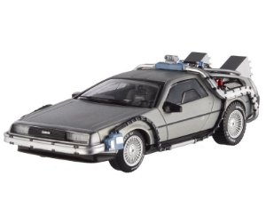 DELOREAN TIME MACHINE DE VOLTA PARA O FUTURO HOT WHEELS ELITE 1/43 X5493