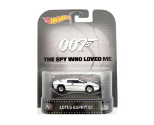 LOTUS ESPRIT S1 THE SPY WHO LOVED ME 1/64 HOT WHEELS CFR26-D718
