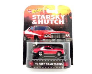 1976 FORD GRAN TORINO STARSKY & HUTCH 1/64 HOT WHEELS CFR34-D718