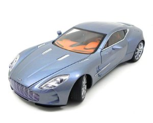 ASTON MARTIN ONE-77 VILLA DESTE BLUE 1:18 AUTO ART #AUT70243