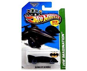 BATMAN LIVE BATMOBILE BATMOVEL 1/64 HOT WHEELS HW IMAGINATION X1628-09A0F