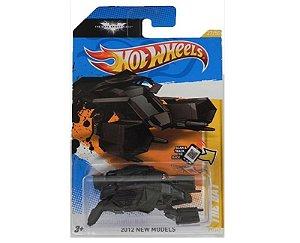 THE BAT THE DARK KNIGHT RISES NAVE BATMAN 1/64 HOT WHEELS 2012 NEW MODELS V5315-09A0N