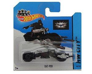 BAT-POD BATMAN 1/64 HOT WHEELS HW CITY BFC76-05B5
